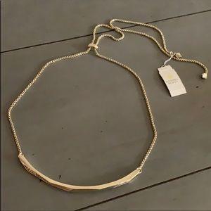 Kendra Scott gold graham choker necklace